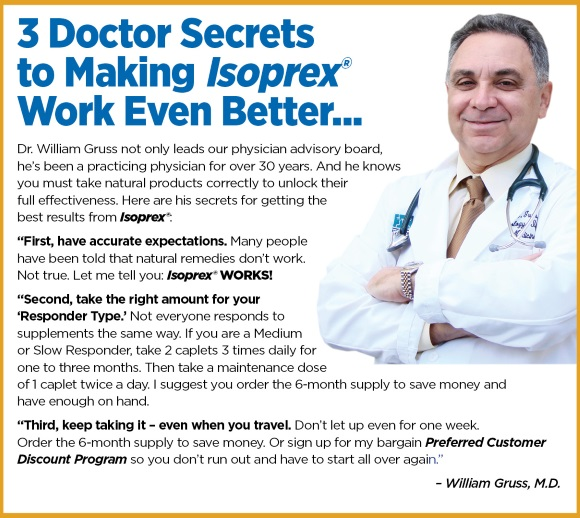 "[Image: 3 ""Doctor"" Secrets to Making Isoprex Work Even Better]"